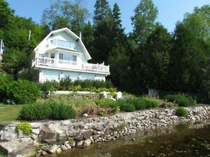 chalet à louer SPÉCIAL DERNIÈRE MINUTE - Chertsey bord Lac Brulé