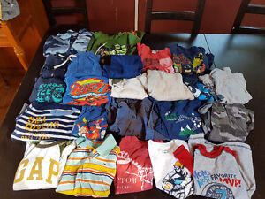 Size 5 Boys Clothes - 23 Items - Mostly T Shirts