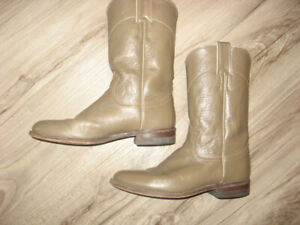 Vintage Justin L3067 Western Roper Boots  Size 6A (Narrow )