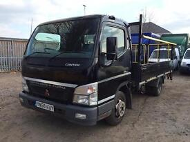 2008 Mitsubishi Canter 35 3C13-30 LWB DROPSIDE - TAIL LIFT - SPARES OR REPAIR