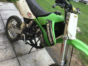 Kawasaki kx85 bored to 100