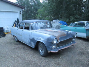 1955 CHEVY BEL AIR, REDUCED