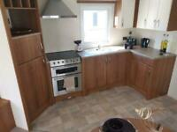 8 berth static caravan for sale at Trecco Bay near the beach