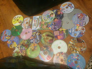 27 kids movies with case for 5$