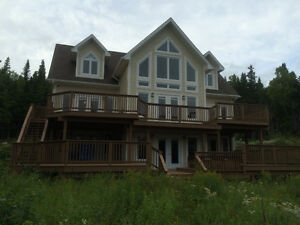 Furnished! 1.5 Acres! Humber Valley Resort-NL Island Realty
