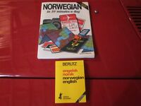 Norwegian-English dictionary + Norwegian in 10 minutes a day