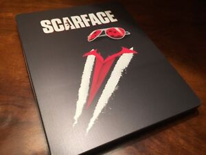 BLU-RAY! SCARFACE LIMITED EDITION STEELBOOK