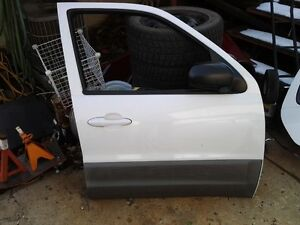 Mazda Tribute passenger side doors