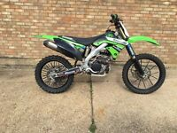 Off-road kx Kawasaki 2011 kxf 250, not yzf crf rmz ktm motocross Mx