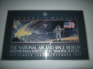 SMITHSONIAN AIR AND SPACE MUSEUM FRAMED POSTER ART