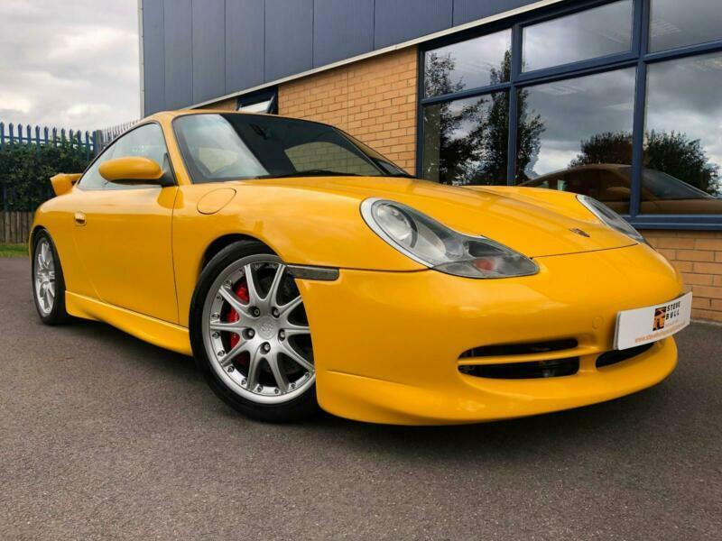 Porsche 911 996 Gt3 Mk1 Manual 1999 Car Speed Yellow In