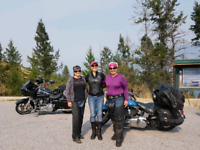 Women's Motorcycle Riding Group