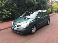 RENAULT MEGANE SCENIC 2004 5 DOOR 1.6 FULLY LOADED PANORAMIC ROOF