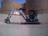 Concrete removal and replacing, New commercial and residential .
