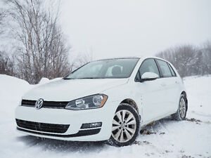 2016 Volkswagen Golf Comfortline + Warranty + Winter Tires