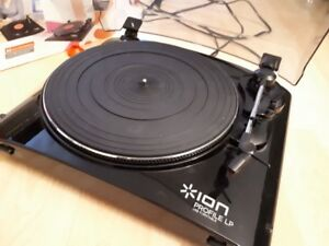ION Profile LP Vinyl-to-MP3 Turntable