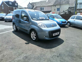2013 FIAT QUBO 1.3TD DUALOGIC MYLIFE 5 DOOR MPV,ONLY 49000 MILES WITH FSH