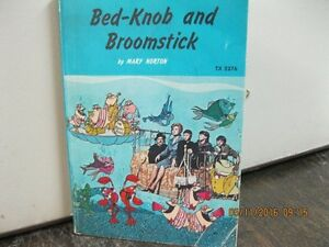 1972    BED-KNOB AND BROOMSTICK