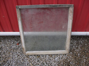 Old wood frame windows for your craft projects