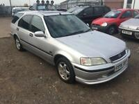 1998/R Honda Civic Aerodeck 1.5i a/c LS FULL MOT EXCELLENT RUNNER