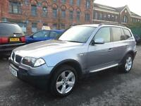 BMW X3 SPORT 2.5i 5DR 2004 ++ 1 OWNER FROM NEW ++ 12 MONTH MOT ++ TOP SPEC