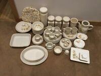 Marks and Spencers Harvest Tableware 83 Piece Dinner Set