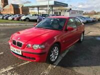 2004 BMW 316TI ES Hatchback Petrol Manual