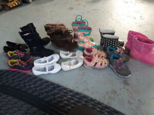 Toddler girls shoes size 7 and 8