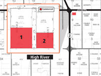 Highway #2 Commercial/Industrial Lots in High River - Auction