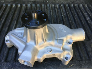 SBC Aluminum Water Pump (NEW) Short-Style Prince George British Columbia image 1