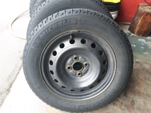 Michlien tire and rim(winter)