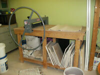 Bailey Slab Roller and Table