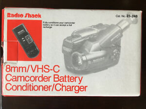 CAMCORDER 8mm VHS BATTERY CHARGER