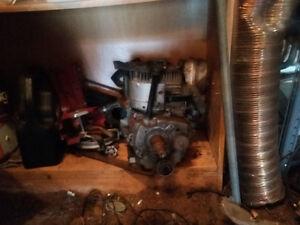 10 hp Tecumseh engine only leaks oil