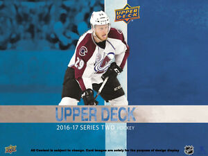 2016-17 Upper Deck Series 2 Hockey Cards