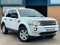 ** VALUE ** 2010 (60) Land Rover Freelander 2.2 TD4 GS 5 dr 4X4 AWD ** WHITE **