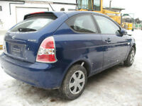 2007 HYUNDAI ACCENT FOR PARTS @ PICNSAVE WOODSTOCK