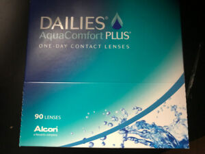962a4600992 Dailies AquaComfort Plus 90 Pack (-3.50) one-day contact lenses