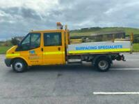 2012 Ford Transit D/Cab Dropside Tipper TDCi 155 bhp Double Cab Dropside Diese
