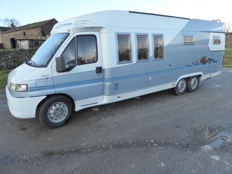 Hobby 750 4 Berth Rear Fixed Bed Coachbuilt Motorhome For Sale Ref 13060