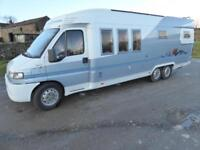 Hobby 750 4 berth, rear fixed bed coachbuilt motorhome for sale Ref: 13060