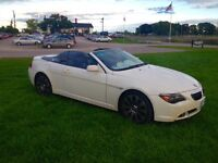 BMW 2004 645ci convertible/navi/over $2000 tuning/exclusive pack