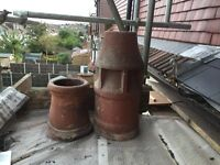 Chimney pots in very good condition