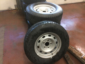 4 TIRES BF GOODRICH SLALOM ON RIMS FOR RAM OR RAM PICK UP