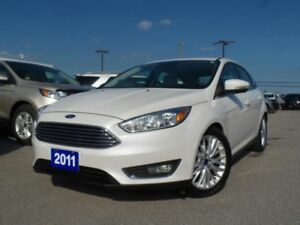 2016 Ford Focus *CPO* TITANIUM 2.0L 4CYL 2.9% APR FREE WARRANTY