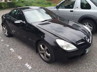 Beautiful SLK 350 - Powerful Mercedes - only 44,000 Miles includes private plate