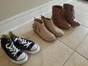 Girls size 13 and 1 shoes