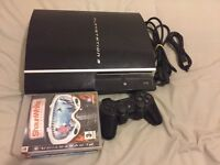 PS3 Original 80GB With 3 Games Sony controller