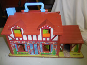 fisher price vintage  maison