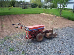 Gravely Walk Behind Tractor (shown with tiller/cultivator)
